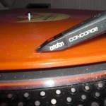 Schallplatte auf Teller