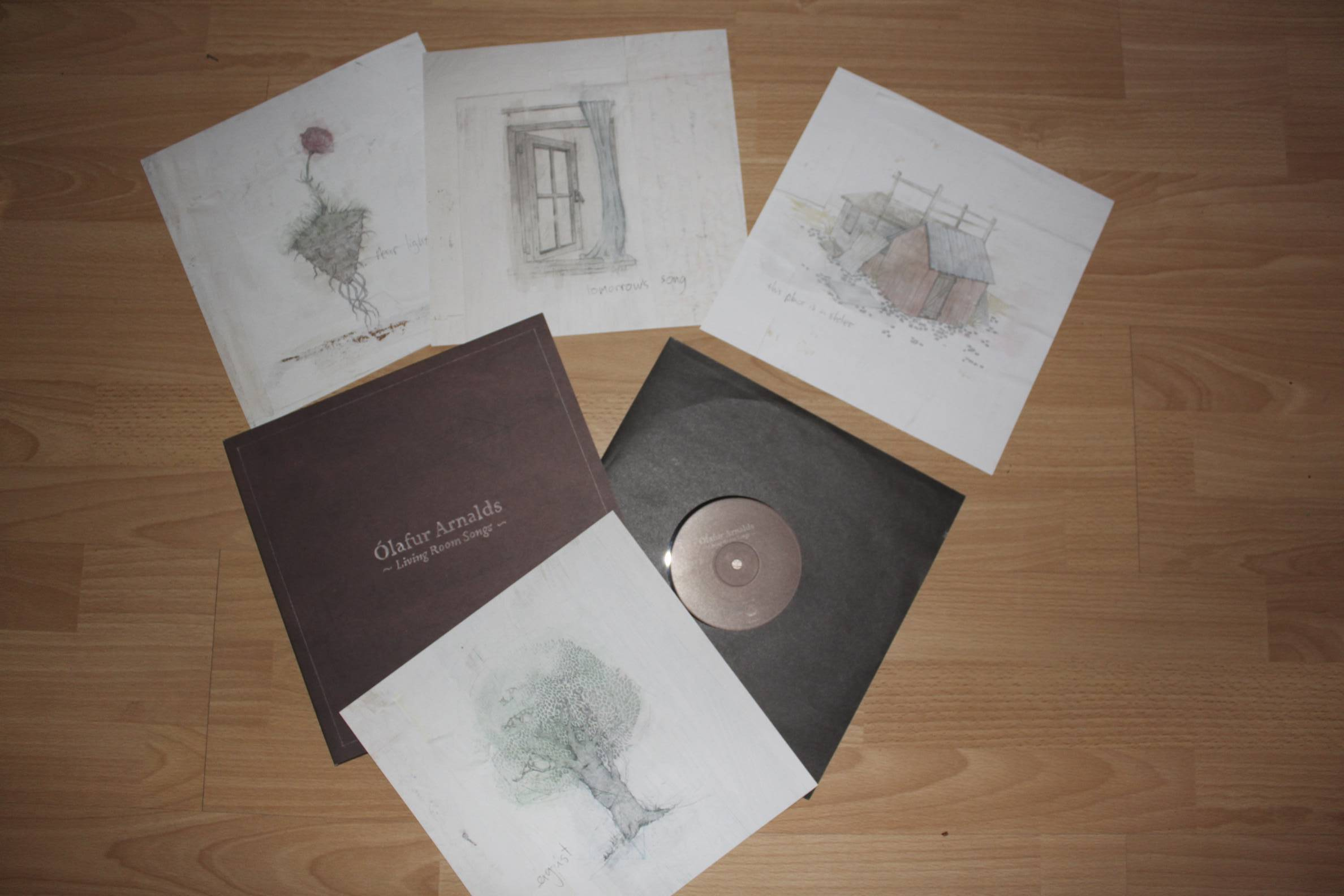 Ólafur Arnalds Living Room Songs Vinyl