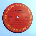 Label Columbia Daft Punk Random Access Memories