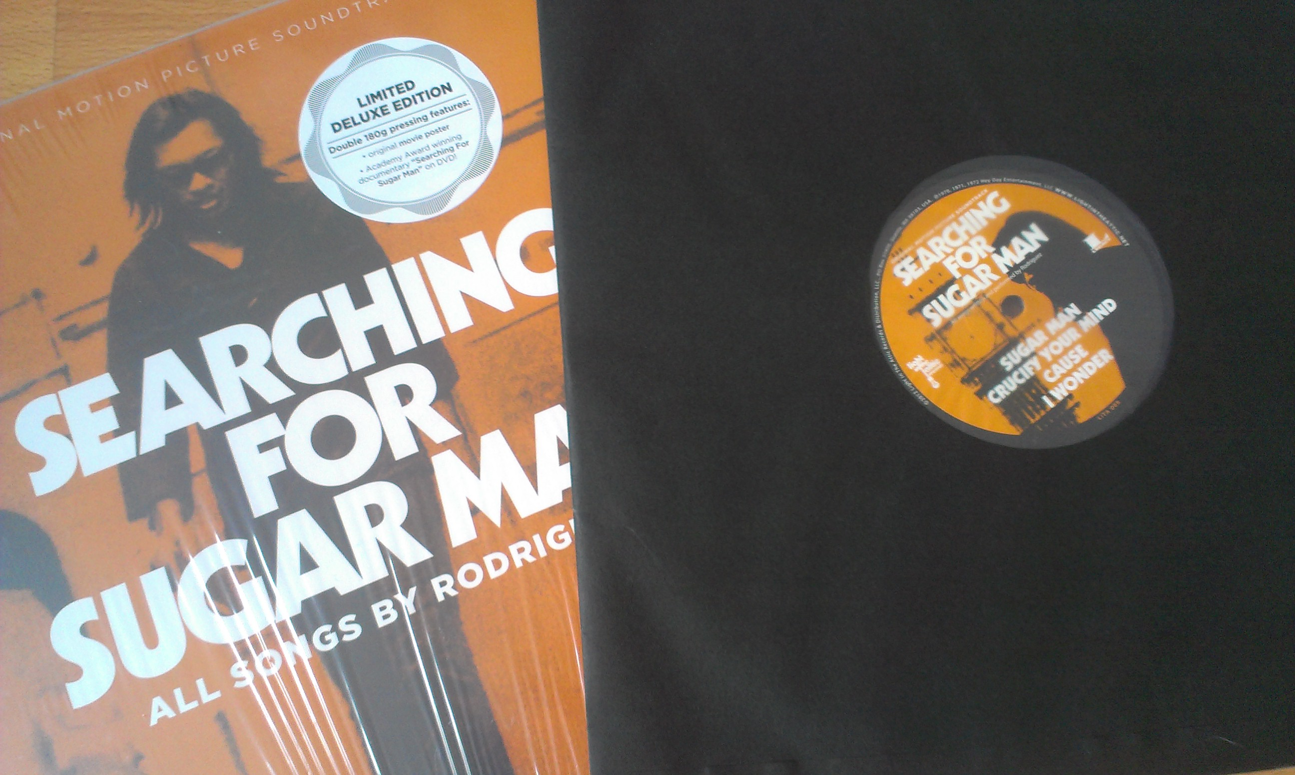 Searching for Sugar Man Soundtrack – by Rodriguez  deluxe Vinyl version